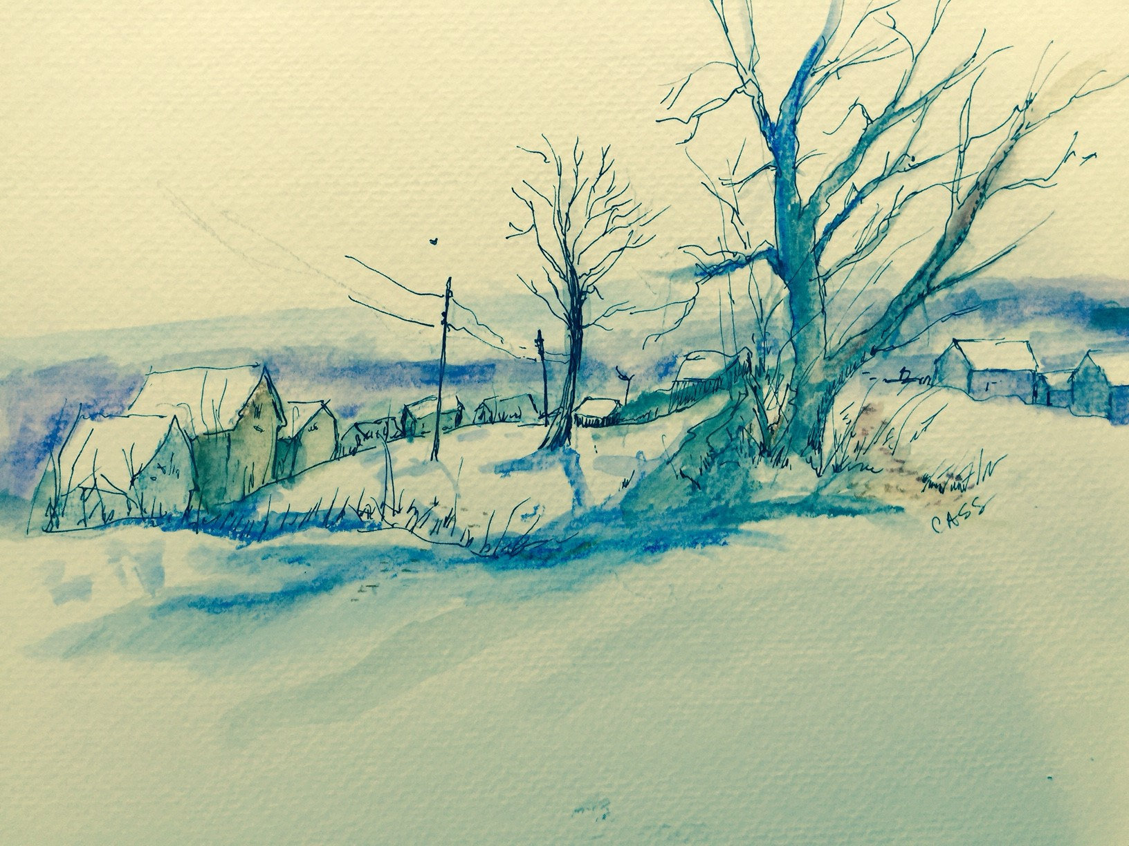 2015 January Winter Scene