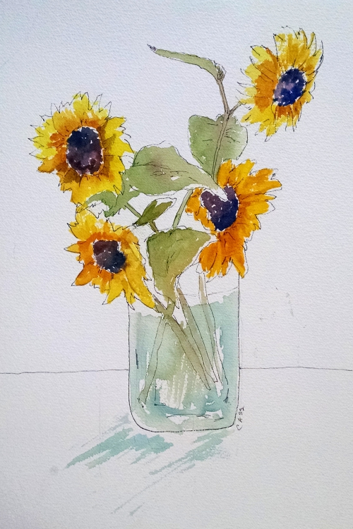 2015 September Sunflower